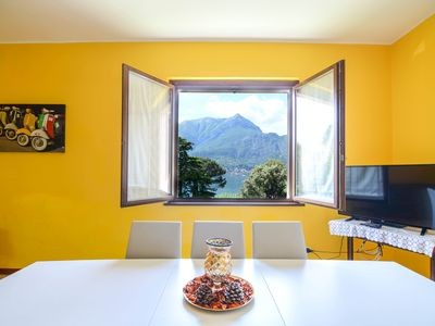 Photo for Villa II Parco apartment in Bellagio with WiFi, air conditioning, private parking & private garden.