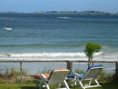 Photo for House foot in the water, near Roscoff with breathtaking views of the island of Batz