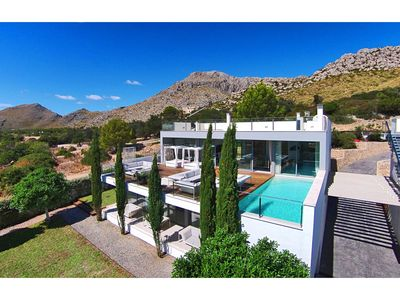 Photo for Can Phoenix is a Designer villa overlooking Puerto Pollensa with designer finishes, minutes from sea