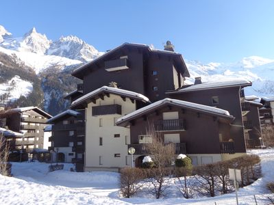 Photo for Studio Chamonix center and at the foot of the slopes