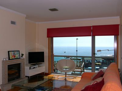 Photo for 2 bedroom Apartment with balcony overlooking the beach