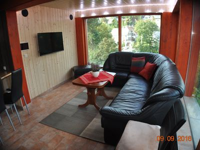 Photo for new modern apartment with private entrance, on the forest 4 people + baby