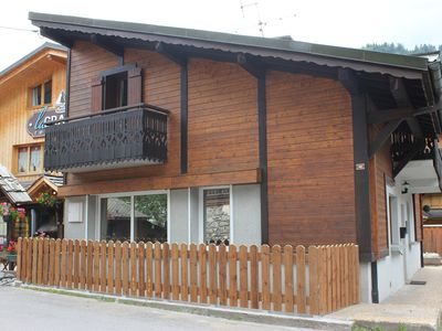 Photo for Central Morzine Chalet With Private Garden And Parking
