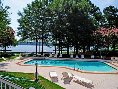 Photo for Southern Tide - Lakefront Family Friendly Retreat in Reynolds Plantation ~Pool~ Beach~ Tennis