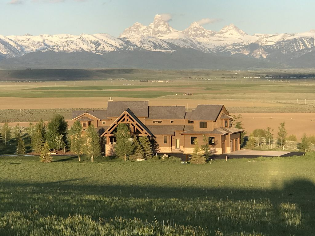 Luxury Western Home Teton Valley Driggs Idaho Idaho