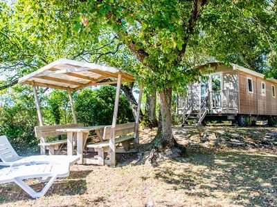 Photo for Camping Airotel Oléron **** - Trailer 3 Rooms 4 People