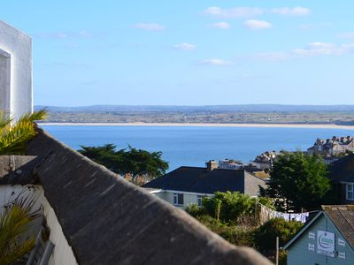 Photo for Maisonette With Sea Views, Private Parking & Sun Terrace. Bright & Modern