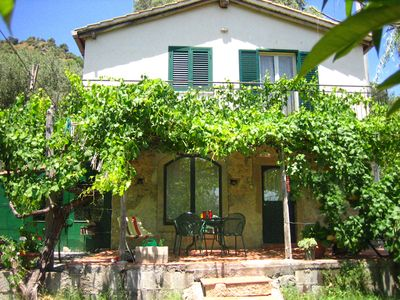 Photo for Very lovely cottage in the beautiful valley of 'San Cataldo'. Private, with pool