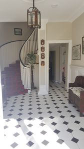 Wellpark entrance hall &  winding staircase