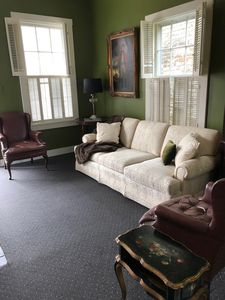 Formal Living Room welcomes you!  Cozy & Comfortable!