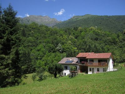 Photo for Sun-drenched holiday home, close to Feltre, in the Dolomites.