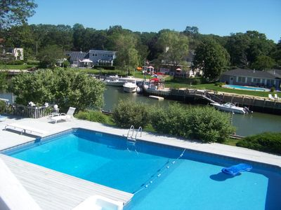 Photo for On the Bay Contemporary with Pool and Dock