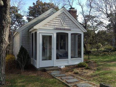 Welcome to Beach Walk - 'the most romantic cottage' located at 370 Wilson Ave Cottage #2, Wellfleet, MA.