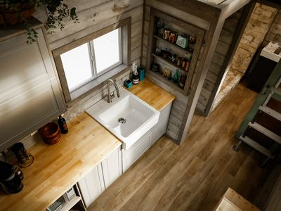 Photo for The Little Grey Fox - Coziest Tiny House In The Hill Country!