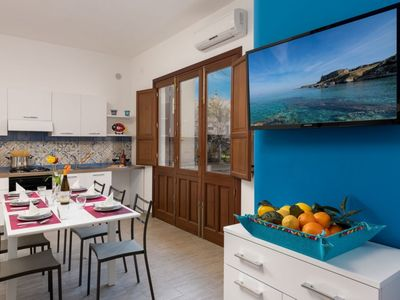Photo for I Tre Golfi Apartment A Touch of Blue Mono