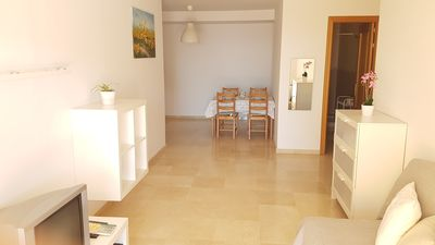 Photo for 1 bedroom apartment with large terrace.