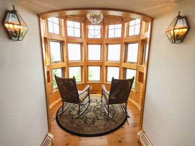 The Turret Suite:  Keweenaw Castle Resort on the Shore of Lake Superior