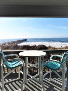 Private Pier Access & Oceanfront Views at Cherry Grove's Sea Cabin 201