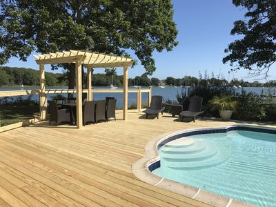 Photo for Waterfront Home Plus Separate Cottage