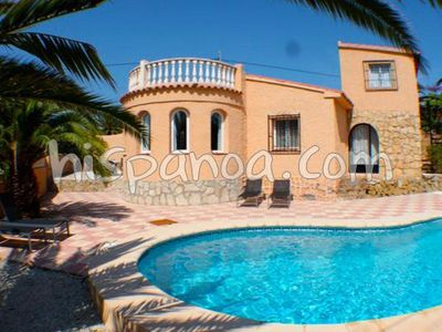 Photo for Renting a villa in Calpe with pool and air conditioning