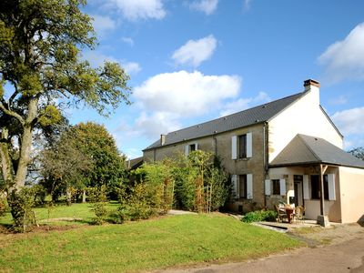 Photo for Charming Farmhouse With Private Garden, Terrace & Large Court yard