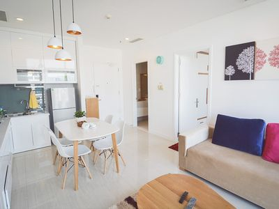 Photo for Son & Henry - NI1A - Spacious 1BR Apartment, CBD, Rooftop Pool and Sky Bar