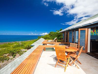 Photo for Sea Lodge offers privacy, ocean views and unforgettable sunsets!