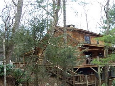 Photo for Cozy Cabin Getaway Located In The Heart Of Valle Crucis