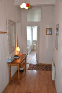 Photo for Apartment 6 people in the center of Cauterets, 3 windows on the Esplana