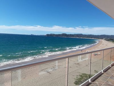 Photo for Beach Front Luxury Penthouse #11 in the middle Barra de Navidad Bay