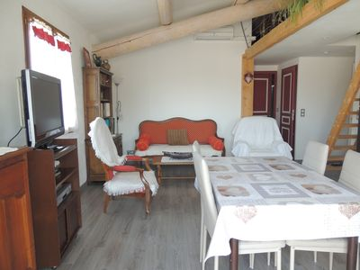 Photo for BEDOIN NEW APARTMENT + TERRACE IN PEACE IN VILLAGE AT THE FOOT OF MONT VENTOUX