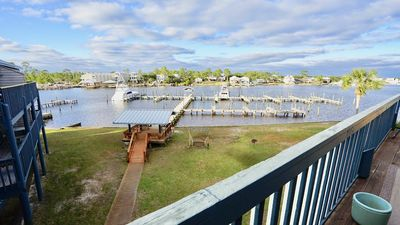 Photo for WATERFRONT, ROOMY UNIT, BOATING AND FISHING PARADISE, CONVENIENT BEACH ACCESS