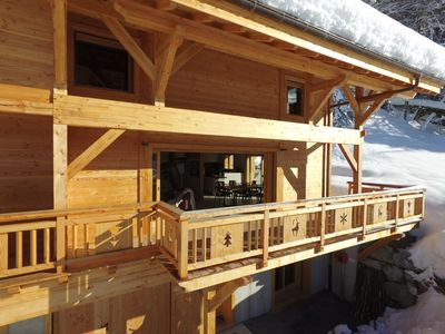 Photo for Chalet Arpitan Panoramic view Grand Massif