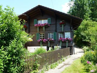 Photo for Holiday apartment Frutigen for 2 - 5 persons with 2 bedrooms - Holiday apartment in a farmhouse