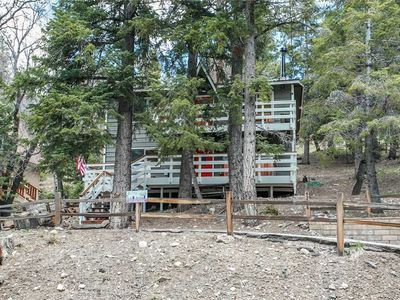 Photo for Serenity Cabin - Walk to Bear Mountain! WiFi and Direct TV NOW. FREE 2 hour Bike/Kayak Rental!