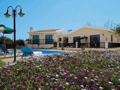 Photo for Country villa in gardens w/ table tennis, private pool + free Wi-Fi & A/C