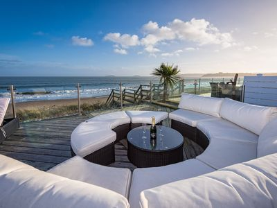 Photo for A SEA FRONT CHALET AT THE WARREN,ABERSOCH SIMPLY STUNNING