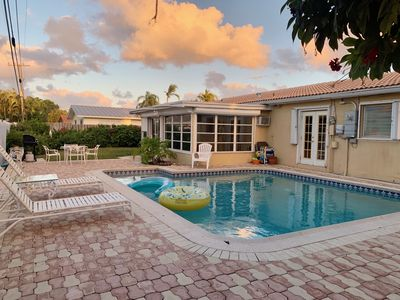 Photo for FORT LAUDERDALE (15 mi. North) POOL - Min. to the BEACH; Exclusive Neighborhood!