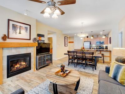 Photo for FREE Activities Daily & WiFi - Base Village Ski In/Out Luxury Condo #3129/Pool Sized Hot Tub