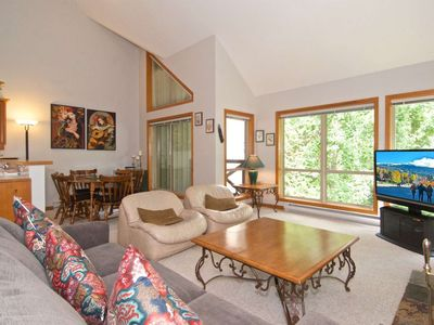 Photo for JUST re painted...SPACIOUS + BRIGHT unit. PERFECT for a Whistler Getaway; SKI IN/SKI OUT