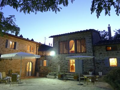 Photo for Typical Barn '700 in the countryside just 20 minutes from Florence, privacy