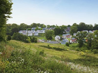 Photo for Apartment 3/4 people to park Normandy Garden, in the green hills of Calvados