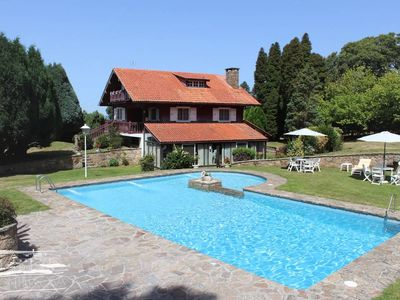 Photo for Country house with large garden, pool and BBQ
