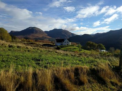 Photo for Large newly built luxury property with superb views of Kintail, close to Skye