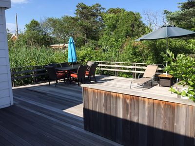 Photo for Charming Fire Island Home steps to the Beach