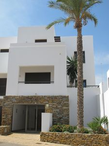 House exterior. Front view