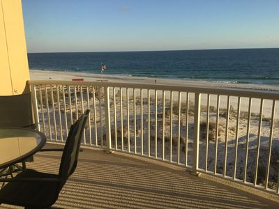 Photo for July 27-Aug 3 Available-Directly on the Beach-Great Curved Balcony-