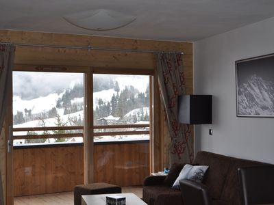 Photo for New apartment on the slopes, 2 bedrooms, sleeps 6 - 4*