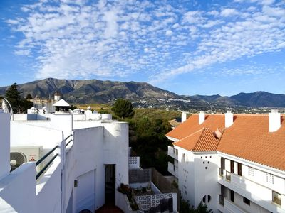 Photo for ANDALUSIAN STYLE APARTMENT AT MIJAS GOLF, POOL AND VIEWS by SOLRENTSPAIN