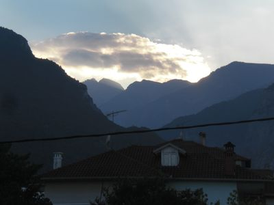 Photo for Apartment in Litochoro with spectacular view of mt. Olympus